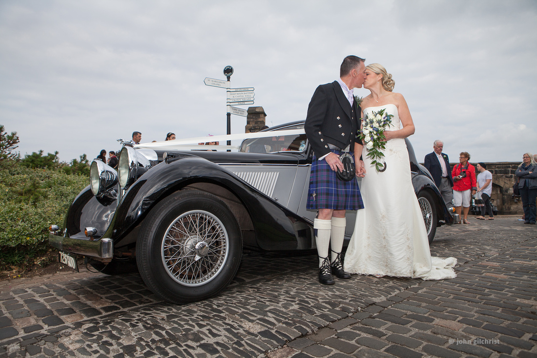 Sample wedding image from Edinburgh Castle and Apex Hotel Grassmarket, photographer John Gilchrist ref 20140906-0030