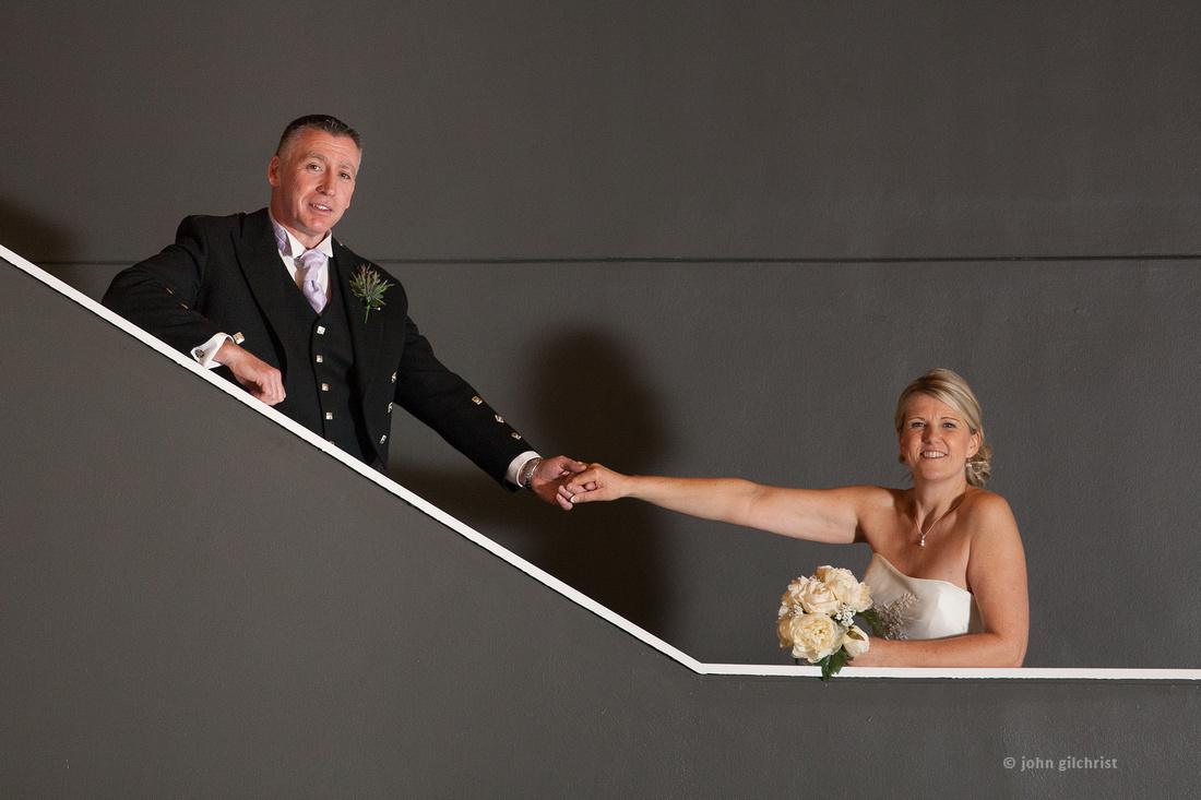 Sample wedding image from Edinburgh Castle and Apex Hotel Grassmarket, photographer John Gilchrist ref 20140906-0050
