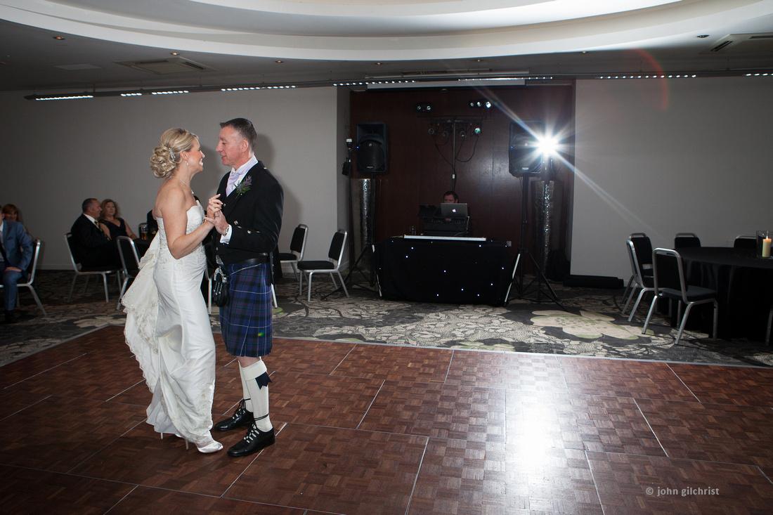 Sample wedding image from Edinburgh Castle and Apex Hotel Grassmarket, photographer John Gilchrist ref 20140906-0063