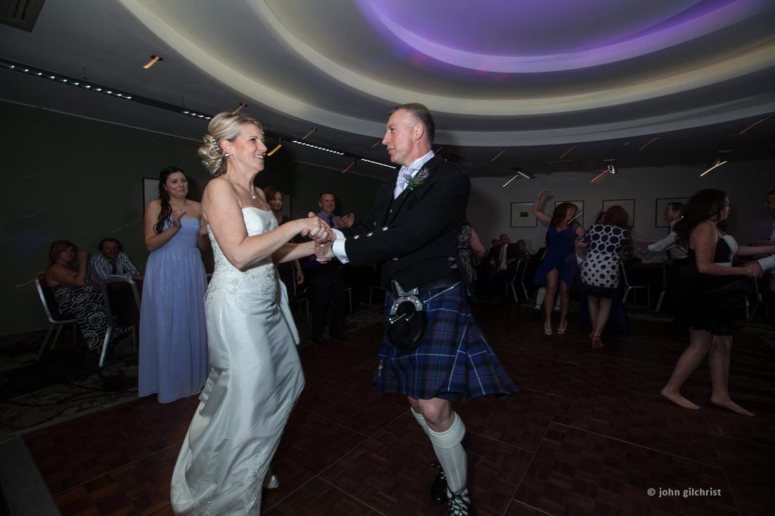 Sample wedding image from Edinburgh Castle and Apex Hotel Grassmarket, photographer John Gilchrist ref 20140906-0069
