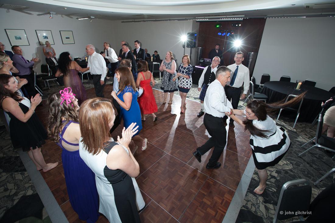 Sample wedding image from Edinburgh Castle and Apex Hotel Grassmarket, photographer John Gilchrist ref 20140906-0070