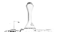 ATC, Transport Building, Air Traffic Control Tower Edinburgh, Architectural Photography-0001