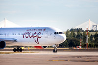 Air Canada Rouge, Toronto to Edinburgh IMG180625EdinburghAirport0006JG