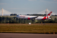Air Canada Rouge, Toronto to Edinburgh IMG180625EdinburghAirport0001JG