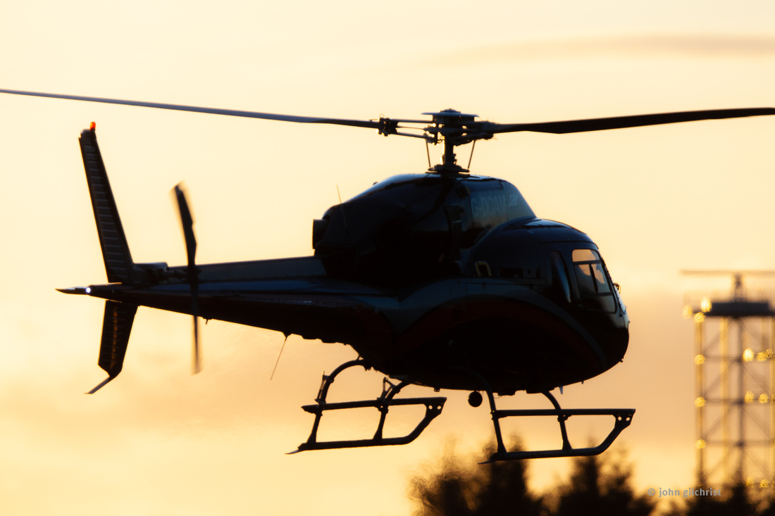 Helicopter ground taxi