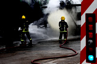 Airport firefighter initial training Edinburgh photographer 0022