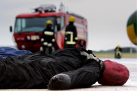 Airport firefighter initial training Edinburgh photographer 0033