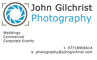 Business card of John Gilchrist