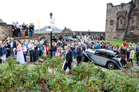 Wedding photography at Edinburgh Castle with UK based photographer John Gilchrist D277Y15P15