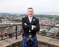 Wedding photography at Edinburgh Castle with UK based photographer John Gilchrist D277Y15P05
