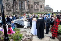 Wedding photography at Edinburgh Castle with UK based photographer John Gilchrist D277Y15P13