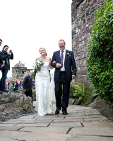 Wedding photography at Edinburgh Castle with UK based photographer John Gilchrist D277Y15P16