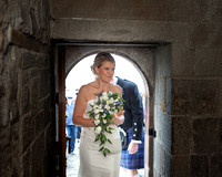Wedding photography at Edinburgh Castle with UK based photographer John Gilchrist D277Y15P17
