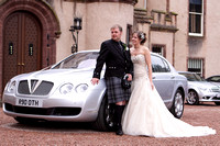 Scottish wedding photography at Fyvie Castle by Edinburgh based wedding photographer John Gilchrist 20090801-0002