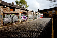 Personal photo gallery by Edinburgh based photographer photos of Graphic Garage Graffiti