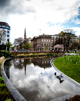 St Andrew Square, Garden Water Feature - IMG-20140410-0012