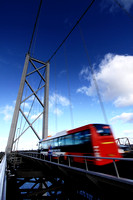 Personal photo gallery by Edinburgh based photographer photos of Forth Road Bridge Crossing