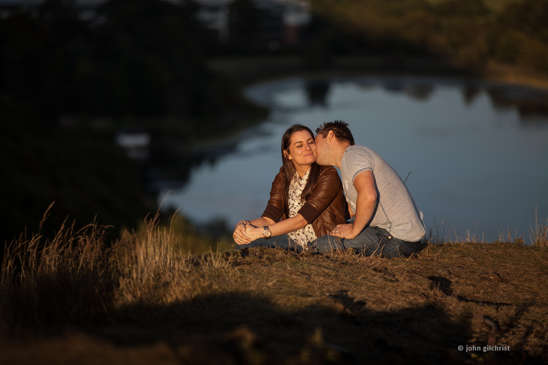 Relaxing engagements with fun photographers
