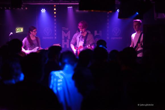 Edinburgh rock band playing live at the Mash House music venue.