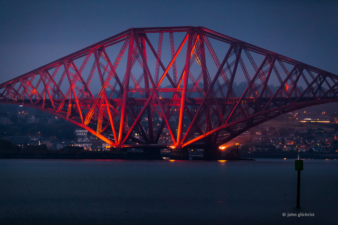 Forth Bridge Scotland Blood Bridge