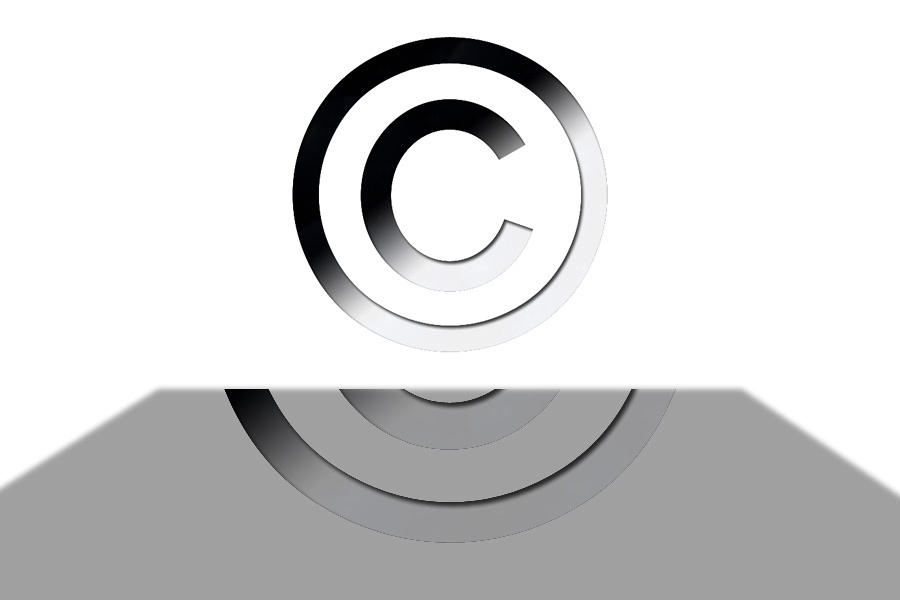 "Circled ""C"" Copyright Symbol"