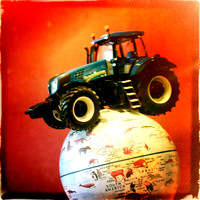 iPhoneography camera photo by John Gilchrist Photography - Tractor Triumphs