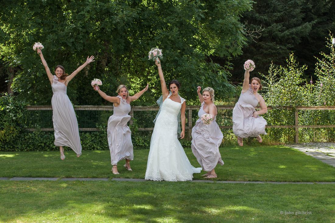 Jump for joy at weddings
