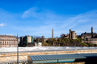 Calton Hill - View From Waverley Train Staion IMG-20140319-0001