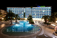 Sunshine holiday resort Majorca Spain IMG0021JG20170711