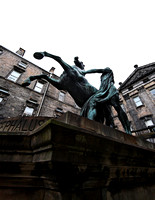 Alexander and Bucephalus, Edinburgh Places of Interest - IMG-1104-0001