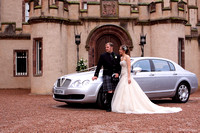 Aberdeenshire wedding photography at Fyvie Castle by Scottish based wedding photographer John Gilchrist 20090801-0001