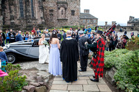 Wedding photography at Edinburgh Castle with UK based photographer John Gilchrist D277Y15P14