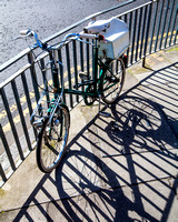 Girlie Push Bike | Top photography spots in Edinburgh | Edinburgh Locations