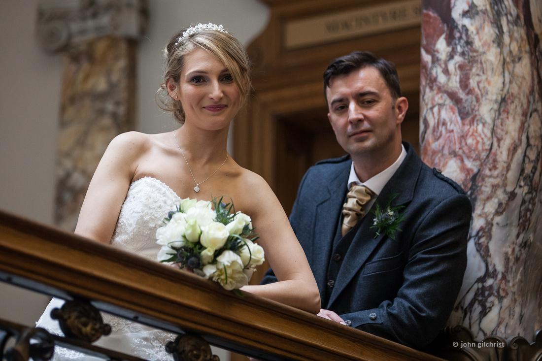 Wedding Lothian Chambers weddings at Lothian Chambers Y14D179WP0018