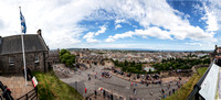 20140718-0002 Edinburgh Castle Panoramic View
