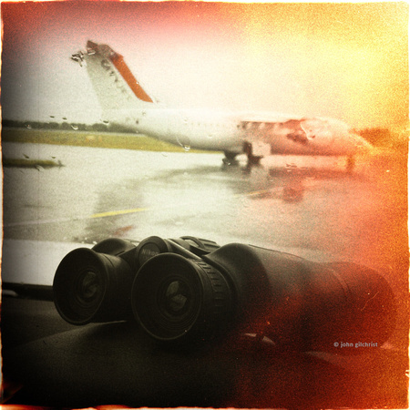 iPhoneography camera photo by John Gilchrist Photography - Plane Spotter