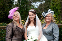 Wedding photography at Barony Castle in Peebles by Edinburgh based wedding photographer John Gilchrist 20121110-0032
